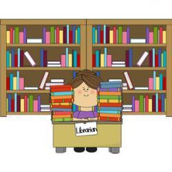 Library clipart school facility