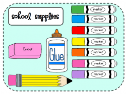 Marker clipart elementary