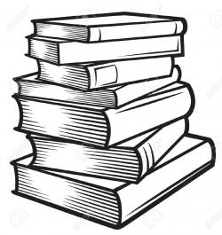 Philosophy clipart stacked book