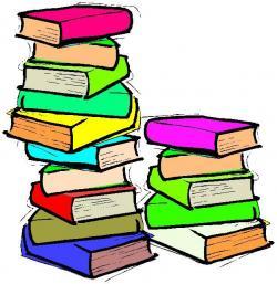 Bobook clipart book stack