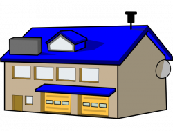 Pl clipart police station building