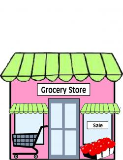 Places clipart grocery shop