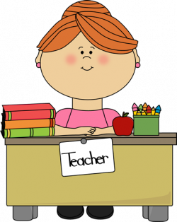 Short Hair clipart african american teacher