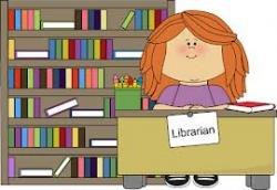 Library clipart teacher