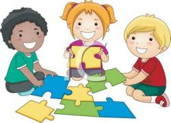 Puzzle clipart child puzzle