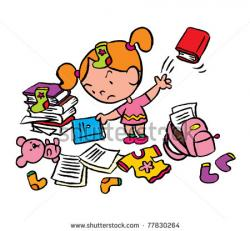 Toy clipart mess