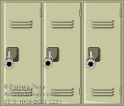 Licker clipart gym locker