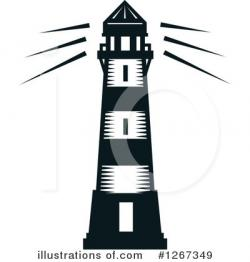 Lighthouse clipart illustration