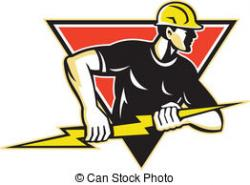 Electrical clipart electricity bolt