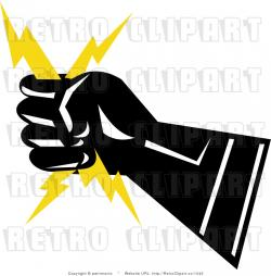 Lightening clipart electrical power symbol
