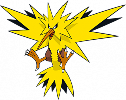 Lightening clipart pokemon