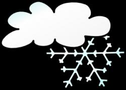 Cloud clipart snow storm