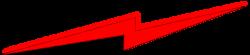 Lightening clipart red lightning
