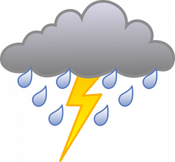 Lightening clipart stormy