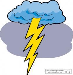 Thunder clipart lightning