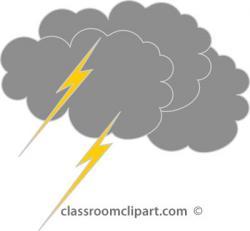 Gray clipart storm cloud