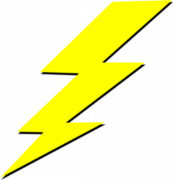 Lightening clipart transparent background