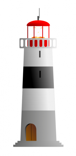 Lighthouse clipart animated