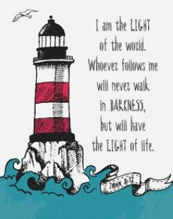 Lighthouse clipart bible