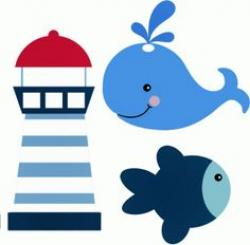 Lighthouse clipart cute