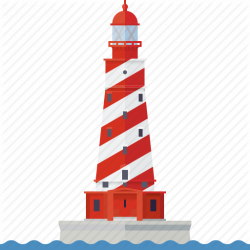 Beacon clipart nautical