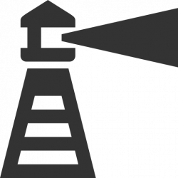 Lighthouse clipart icon