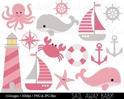 Mauve clipart sailboat