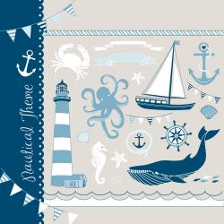 Lighthouse clipart sea