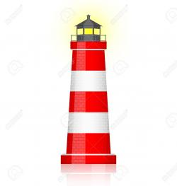 Lighthouse clipart simple