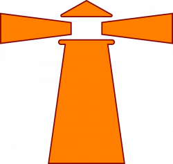 Beacon clipart orange