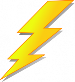 Lightening clipart yellow