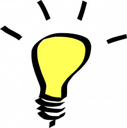 Bulb clipart invention