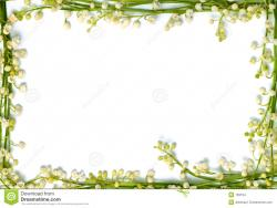 Lily Of The Valley clipart border