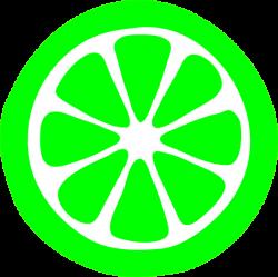 Lime clipart green lemon