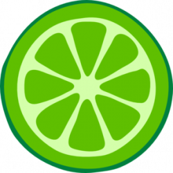 Lime clipart lime wedge