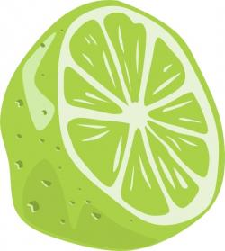 Lime clipart vector