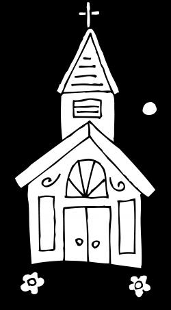 Steeple clipart english church