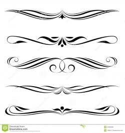 Lines clipart line art