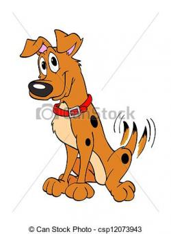 Perro clipart dog tail