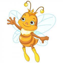 Bees clipart queen bee