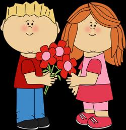Line Art clipart kid valentine