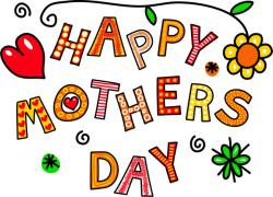 Mother's Day clipart cartoon