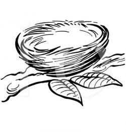 Bird's Nest clipart empty nest