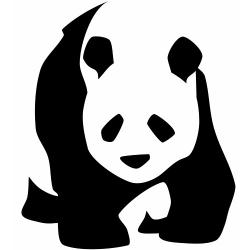 Maters clipart chinese panda