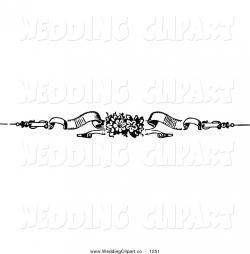 Wedding clipart divider