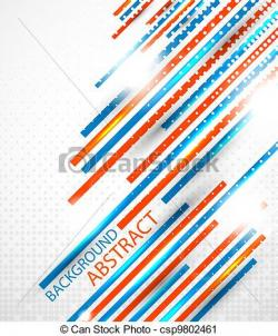 Stripe clipart abstract art