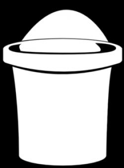 Line clipart bucket