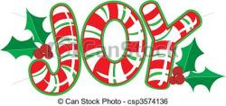 Candy Cane clipart joy to world