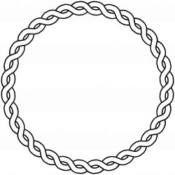 Lines clipart circle