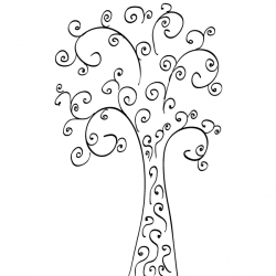 Curl clipart curly line